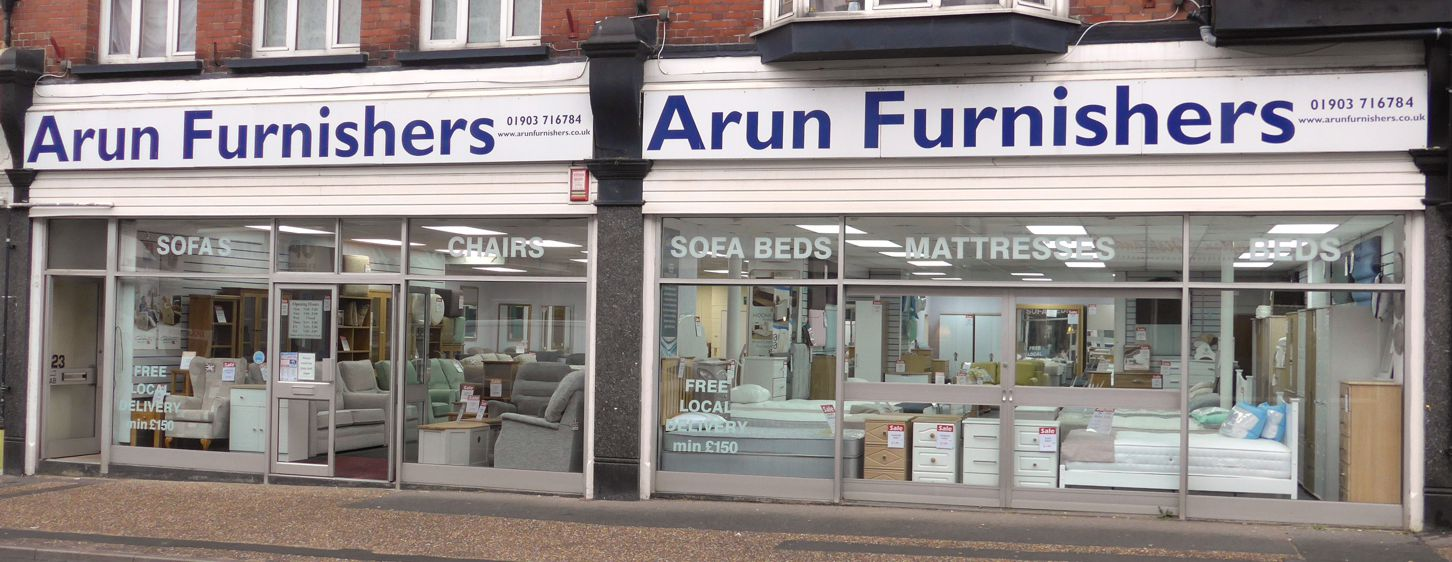 Arun Furnishers Ltd based in Littlehampton, West Sussex supply quality furniture for the home including beds, bedroom furniture, upholstery and dining furniture